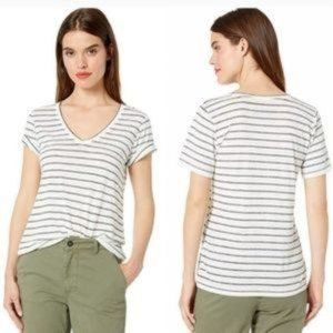 Lucky Brand Venice Burnout White T-Shirt Top SP